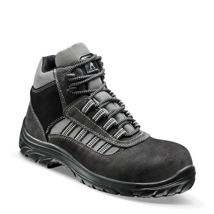 grand choix de 48b1e 43600 Chaussure de sécurité haute en cuir velours ATLANTIS S1P