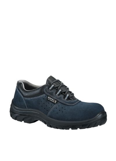 Breathable low safety footwear AEROBLUE S1P