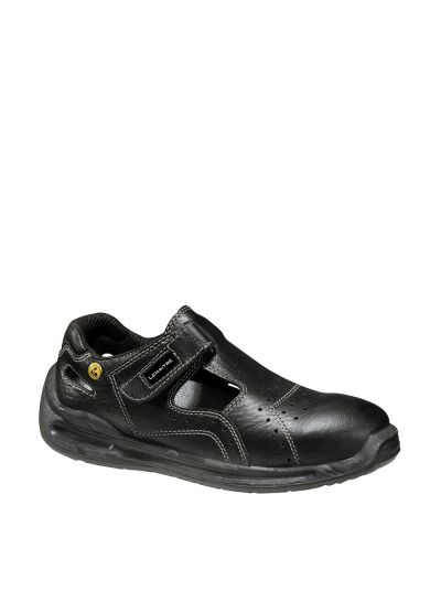 AMPERA BLACK S1 SRC safety sandal ESD in leather