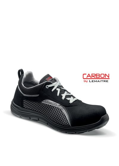 Safety trainer with breathable upper and light carbon fiber toecap FOSTER S1P