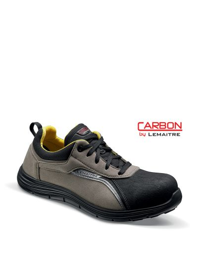 Safety trainer with microfiber upper and lightweight carbon toecap JASON S3 SRC