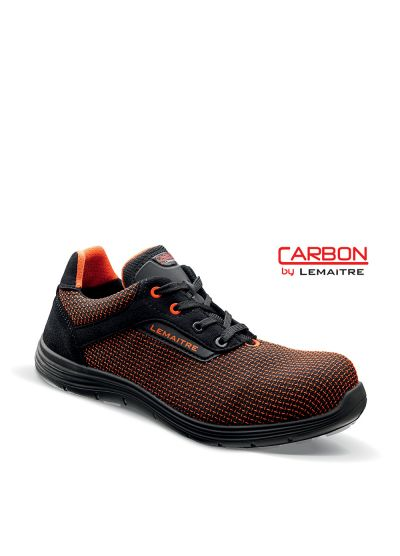 Safety trainer with textile upper and light carbon fiber toecap YANIS S3 SRC