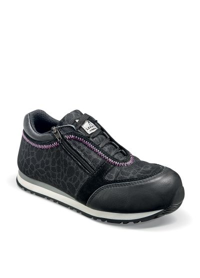 Women's safety trainer with zipper ROWENA S1P