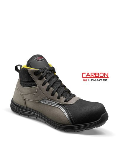 Safety trainer with microfiber upper and lightweight carbon fiber toecap JORDAN S3 SRC