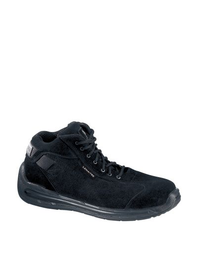 Water-repellent suede safety shoe BLACKCOBRA S3 CI