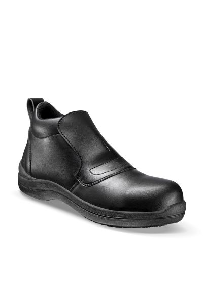Safety loafer for food industry & labs BLACKMAX GRIP HIGH Femme S2 CI