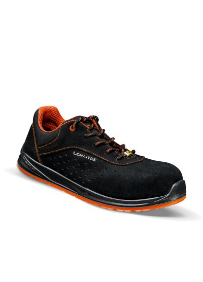 BLACKTRIGGER S1P SRC low safety shoe with ESD protection