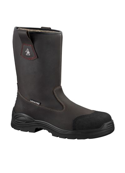 Warm lined safety rigger boot TRANSALP S3 CI