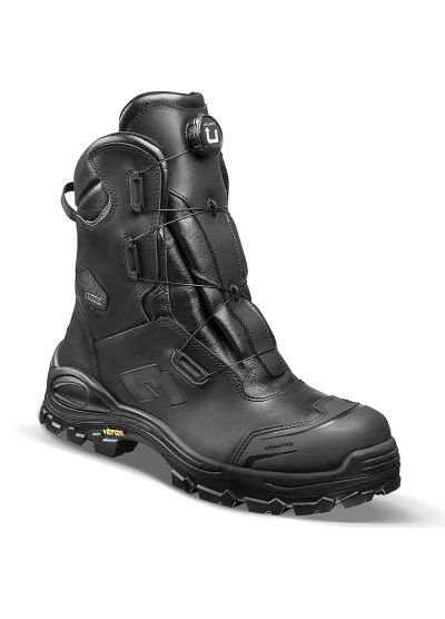 BRIMIR S3 SRC safety boots with breathable waterproof membrane and U-turn lacing system