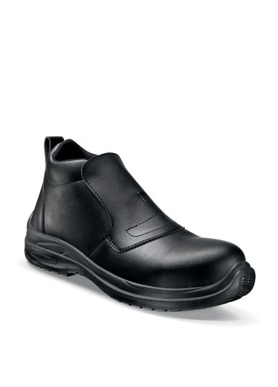 Safety loafer for food industry and labs BLACKMAX GRIP HIGH for Men S2 CI