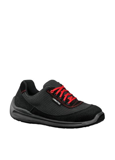 Breathable safety shoe textile / leather CHERRY S1P