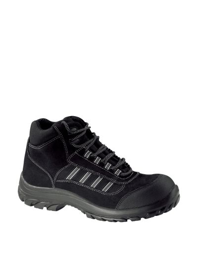 Versatile safety shoe with abrasion resistant scuffcap DUNE S3