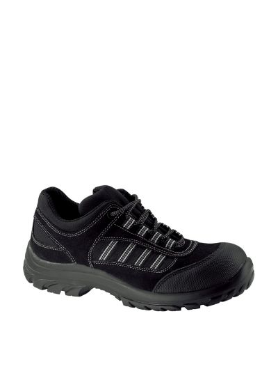 Versative safety shoe with abrasion resistant scuffcap DURAN S3