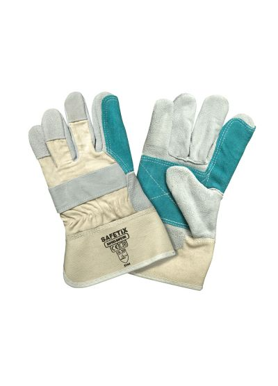 Protective glove GREEN DOCKER x10