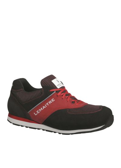 Red safety trainer JIM S3