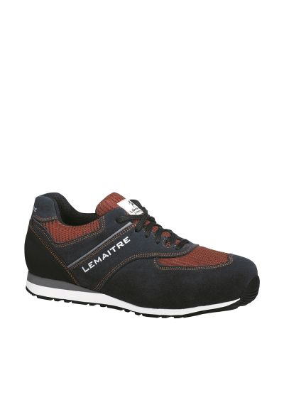 JOHN S3 SRC blue and orange safety trainer