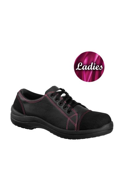 LIBERTY LOW CHOCOLAT S3 SRC ladies safety shoe