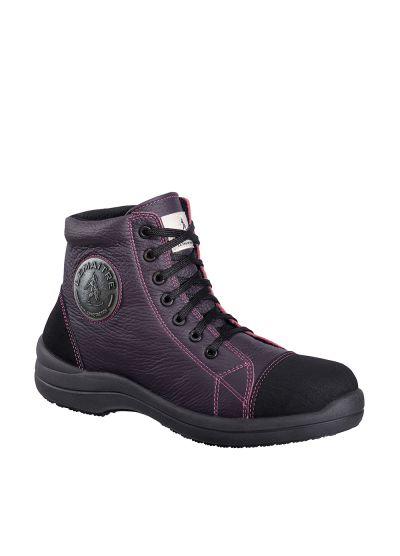 LIBERTY HIGH PRUNE S3 SRC ladies safety shoe