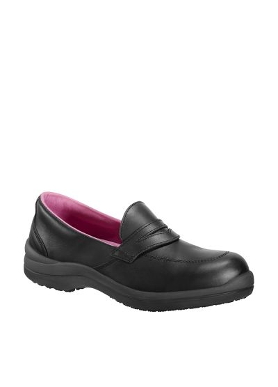 Women's moccasin style safety shoes RIANA S3 CI