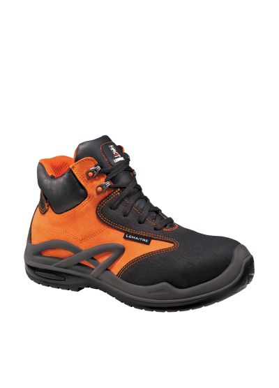 HIGHLY POLYVALENT RESISTANT SAFETY SHOE ROISSY ORANGE S3 CI
