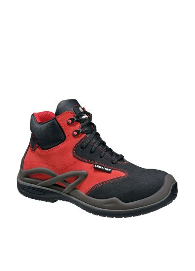HIGHLY POLYVALENT RESISTANT SAFETY SHOE ROISSY RED S3 CI