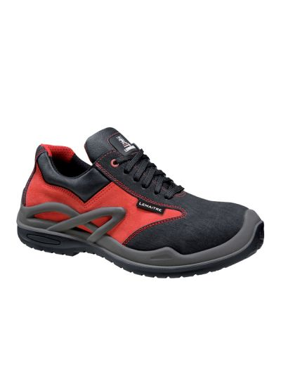 HIGHLY POLYVALENT RESISTANT SAFETY SHOE ROYAN RED S3 CI