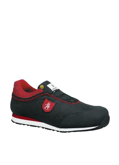 RYAN S3 SRC black and red safety trainer