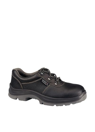 Low cut safety shoe grained leather SMARTFOX BAS