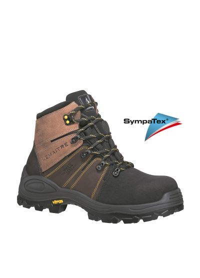 Hiker-inspired imperbreathing safety shoe Vibram TREK BRUN S3
