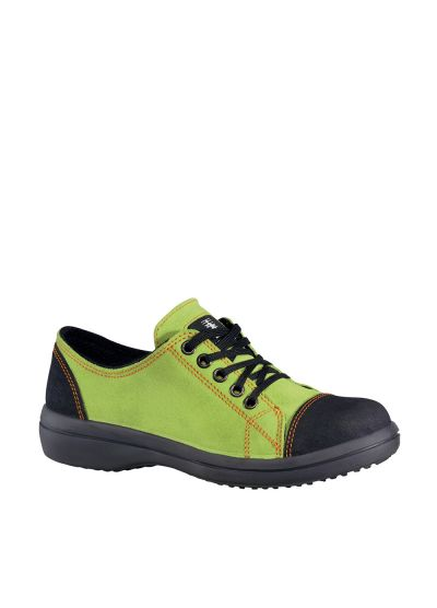 WOMEN'S SAFETY SHOE VITAMINE LOW GREEN