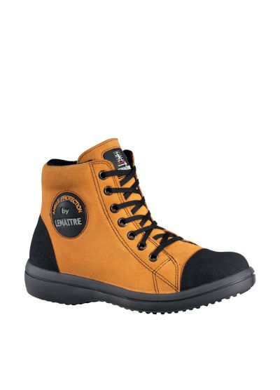 Ladies safety footwear high VITAMINE orange