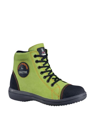 WOMEN'S SAFETY SHOE VITAMINE HIGH GREEN