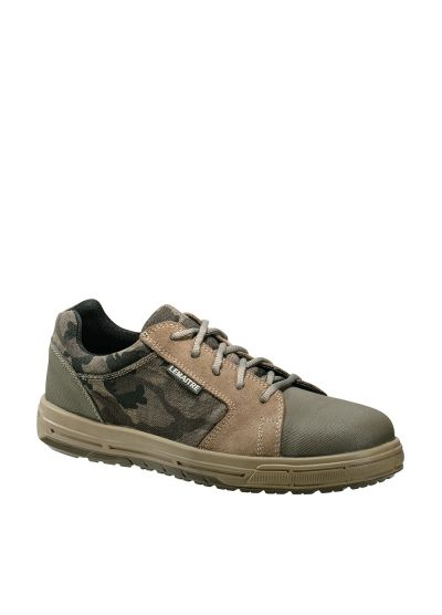 Camouflage-style safety sneaker WILLOW S1P